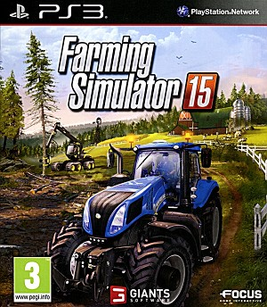 Farming Simulator 15 PS3 Cover Artwork