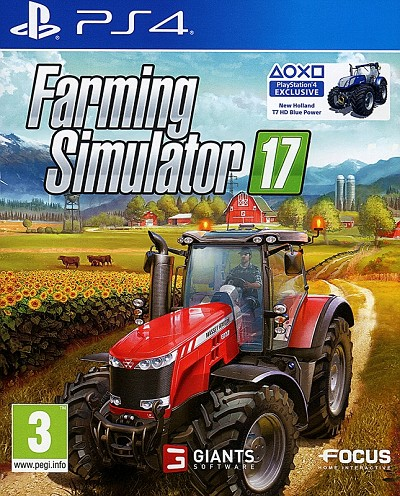 Farming Simulator 17 PS4 Cover Art