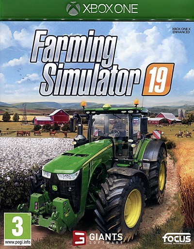 Farming Simulator 19 Xbox One Cover Art