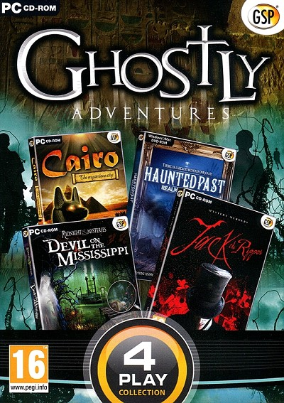 Ghostly Adventures Collection Cover Art