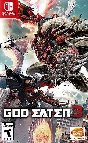 God Eater 3 Switch Game Pack Cover Art