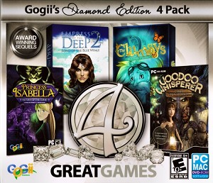4 Great Games Diamond Edition Cover