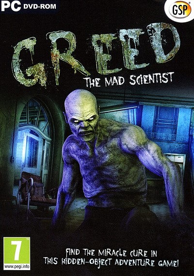 Greed The Mad Scientist Cover Art