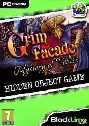 Grim Facade Mystery of Venice Cover Artwork