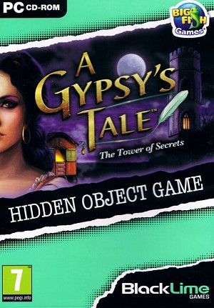 A Gypsy's Tale The Tower of Secrets Cover Artwork