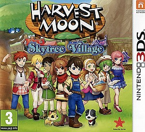 Harvest Moon Skytree Village 3DS Cover Art