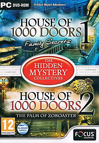 The Hidden Mystery Collectives: House of 1000 Doors 1 & 2 Cover