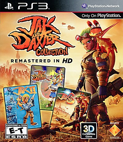 Jak and Daxter Collection PS3 Cover Artwork