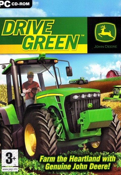 John Deere Drive Green Cover Artwork EU Release