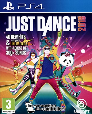 Just Dance 2018 PS4 Cover Art