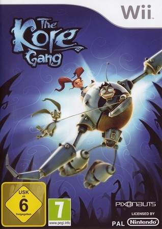 The Kore Gang Wii Cover Art