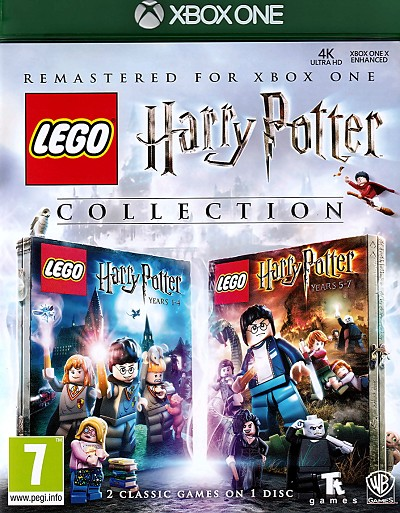 Lego Harry Potter Collection Xbox One Cover Art