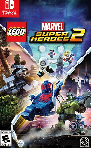 Lego Marvel Super Heroes 2 Switch Cover Art