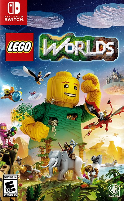 Lego Worlds Switch Cover Art