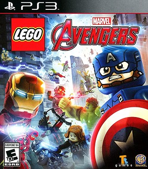 Lego Marvel Avengers PS3 Cover Art
