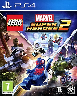 Lego Marvel Super Heroes 2 PS4 Cover Art