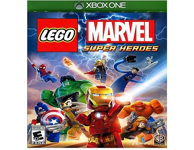 Lego Marvel Super Heroes Xbox One US Cover Artwork