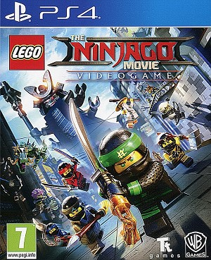 Lego Ninjago Movie Videogame Cover Art PS4