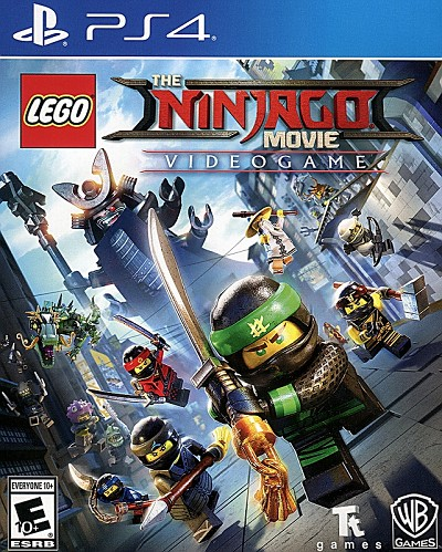 Lego Ninjago Movie Videogame Cover Art All Regions PS4