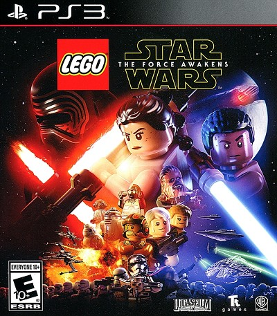 Lego Star Wars Force Awakens PS3 Cover Art