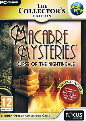 Macabre Mysteries Curse of the Nightingale Collector's Ed. Cover