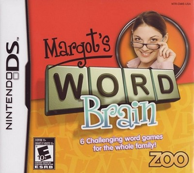 Margot's Word Brain DS Cover Artwork