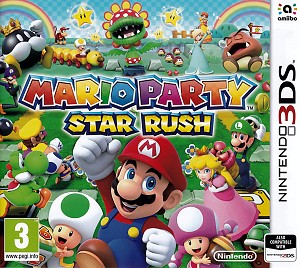 Mario Party Star Rush 3DS Cover Art