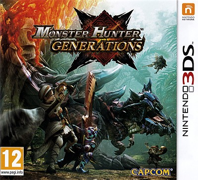 Monster Hunter Generations 3DS Cover Art
