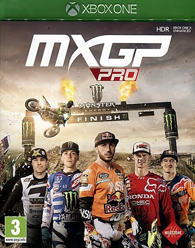 MXGP Pro Xbox One Cover Art