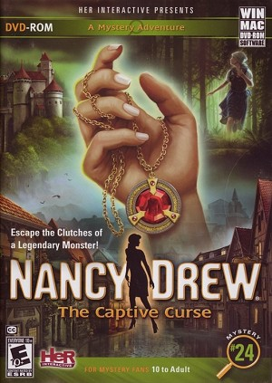 Nancy Drew the Captive Curse Cover
