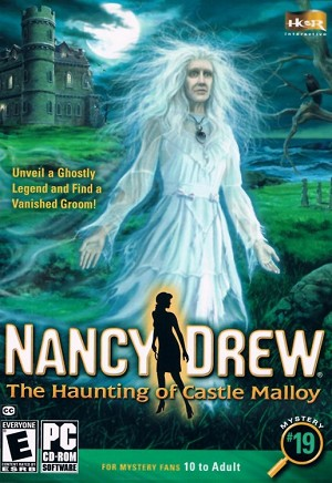 Nancy Drew the Haunting of Castle Malloy Cover Artwork