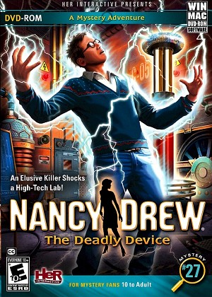 Nancy Drew the Deadly Device Cover (front)