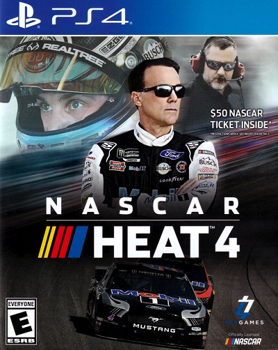 Nascar Heat 4 PS4 Cover Art