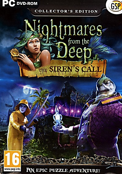 Nightmares from the Deep Siren's Call Collector's Ed. Cover Artwork
