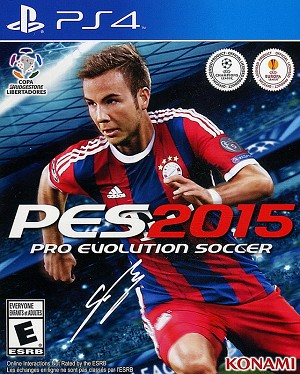 PES 2015 PS4 Cover Art
