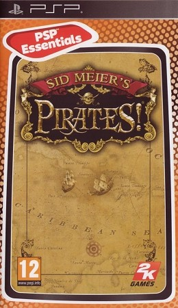 Sid Meier's Pirates PSP Cover Art