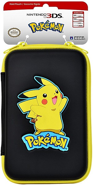 Pikachu Pokemon Hard Pouch (Hori) 3DS