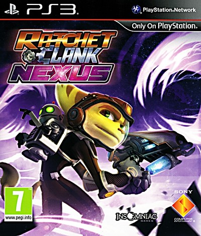 Ratchet and Clank Nexus PS3 Cover Artwork