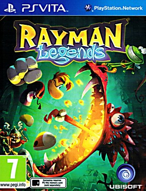 Rayman Legends PSVita Cover Artwork