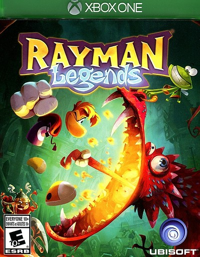 Rayman Legends Xbox One Cover Artwork
