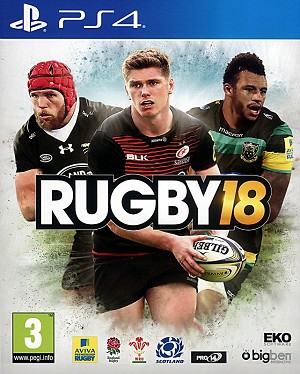 Rugby 18 PS4 Cover Art