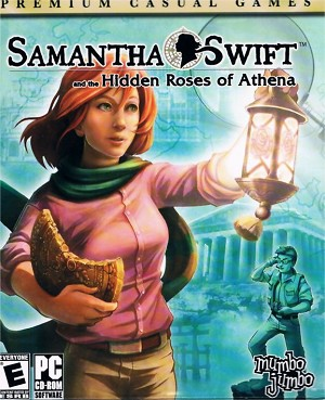 Samantha Swift and the Hidden Roses of Athena Artwork