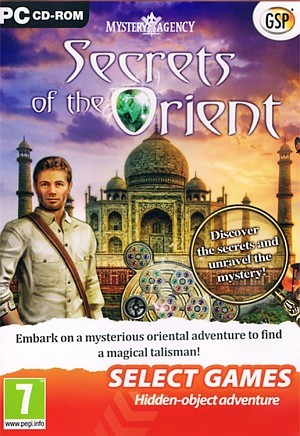 Mystery Agency Secrets of the Orient Cover