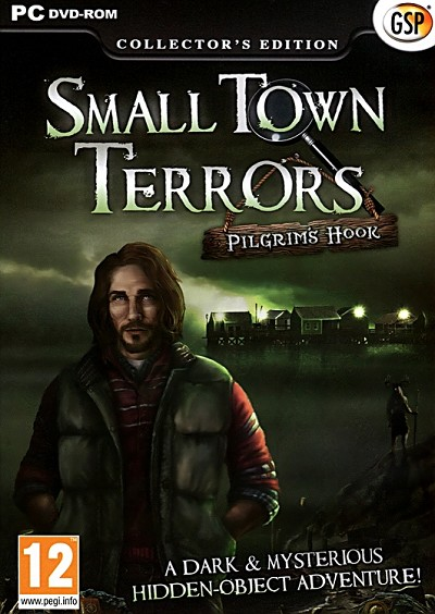 Small Town Terrors Pilgrim's Hook Collector's Ed. Cover Artwork