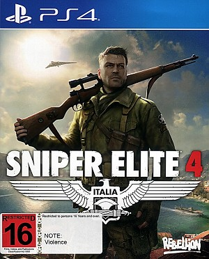 Sniper Elite 4 PS4 Cover Art