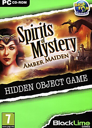 Spirits of Mystery Amber Maiden Cover Artwork