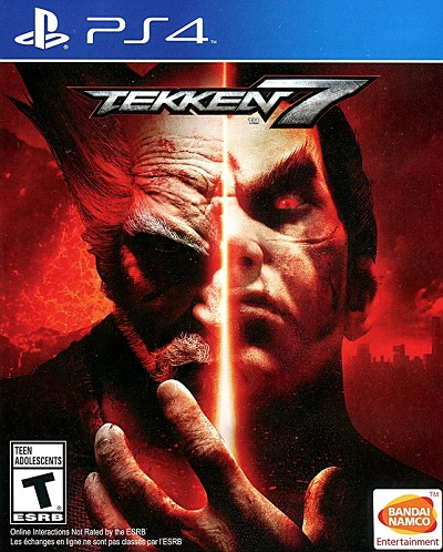 Tekken 7 US PS4 Cover Art