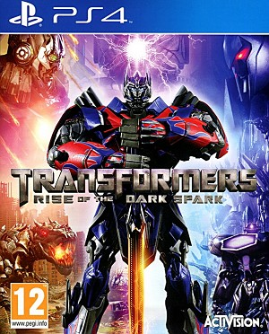 Transfomers Rise of the Dark Spark PS4 Cover Artwork