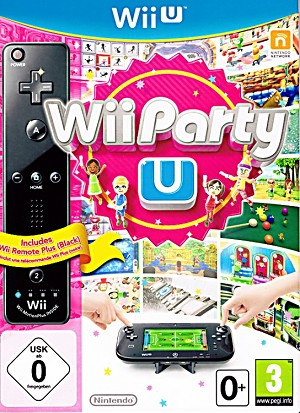 Wii Party U Cover Artwork